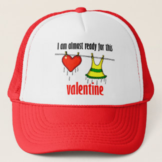 Ready For Valentine Trucker Hat