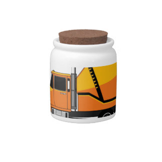 ready mix rig candy jars