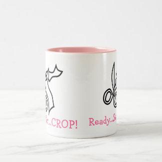 Ready...Set...CROP! coffee mug