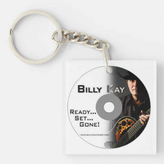 Ready... Set... Gone! CD Cover Square Keychains