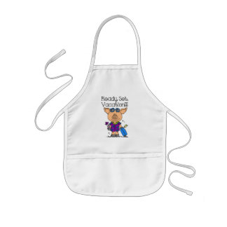 Ready Set Vacation Kids' Apron