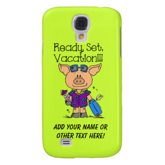 Ready Set Vacation Samsung S4 Case