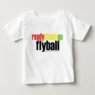 Ready Steady Go Flyball Baby T-Shirt