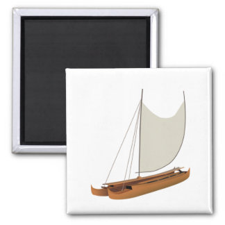 READY THE VOYAGE 2 INCH SQUARE MAGNET