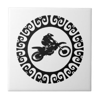READY THIS RIDER SMALL SQUARE TILE