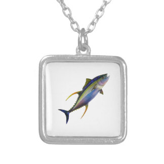 READY TO ATTACK SILVER PLATED NECKLACE