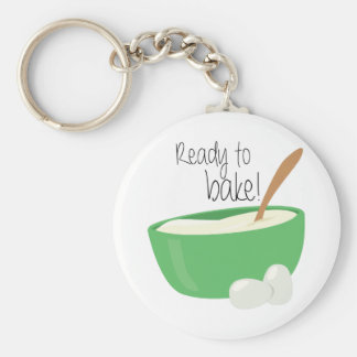 Ready To Bake! Keychain
