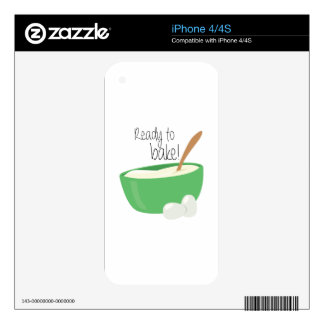 Ready To Bake! iPhone 4S Skins