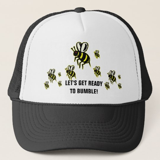 f94d8e724 Ready to Bumble Trucker Hat