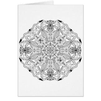 Ready to Color Palm Trees Greeting Card