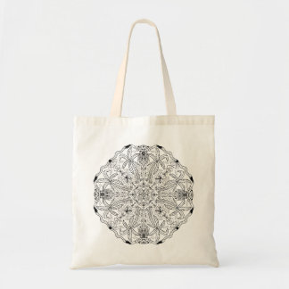 Ready to Color Palm Trees Tote