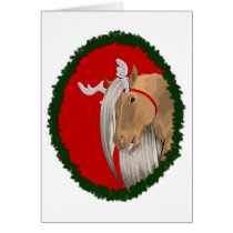 Ready-To-Decorate Christmas Pony Card