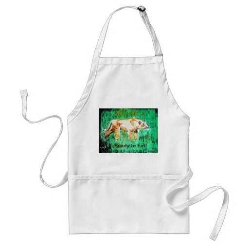 Ready to Eat Adult Apron