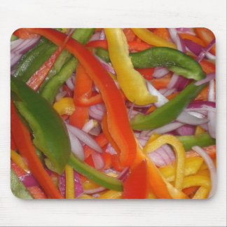 ready to eat salad! mouse pad