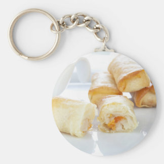 Ready to Eat Spring Rolls Keychain