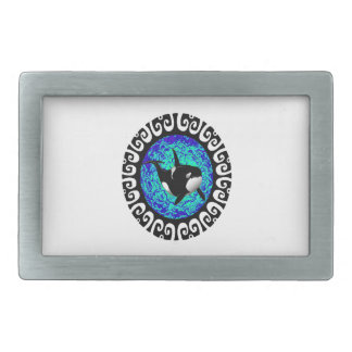 READY TO EXPLORER RECTANGULAR BELT BUCKLE