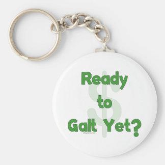 Ready To Galt Yet Basic Round Button Keychain