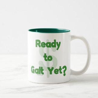 Ready To Galt Yet Two-Tone Coffee Mug