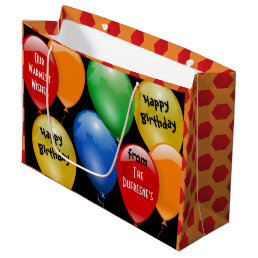 Ready to Go Personalized Birthday Large Gift Bag