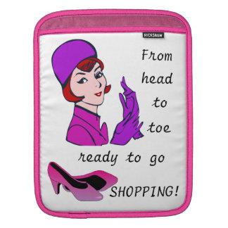 Ready to go Shopping Funny iPad Case