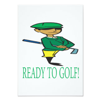 Ready To Golf Card