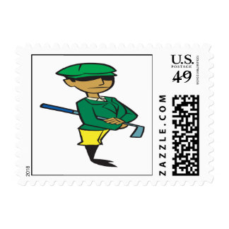 Ready To Golf Postage