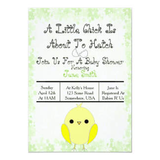 Ready to Hatch Baby Shower Invite