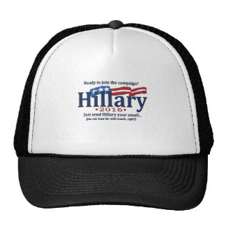 Ready to join Hillary's email campaign? Trucker Hat
