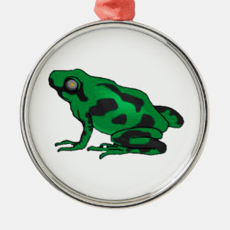 READY TO LEAP METAL ORNAMENT