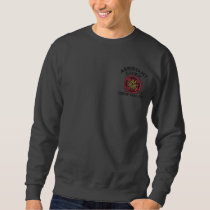 Ready to Personalize Assistant Chief Firefighter Embroidered Sweatshirt