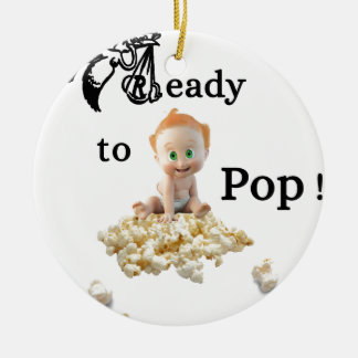 Ready to Pop Ceramic Ornament