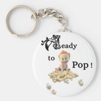 Ready to Pop Keychain