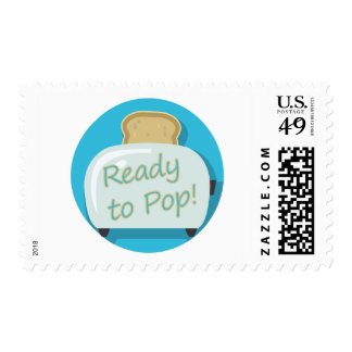 ready to pop toast belly postage stamp