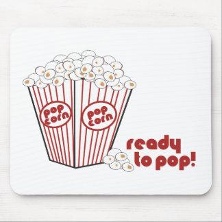 Ready to Popcorn Mousepad