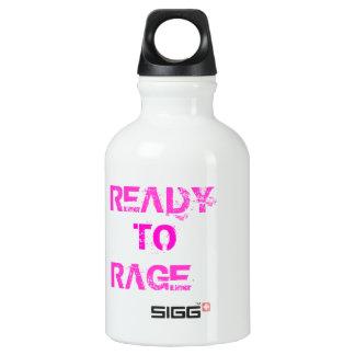 Ready to Rage Aluminum Water Bottle