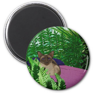 Ready to Relax 2 Inch Round Magnet