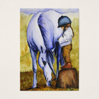 Ready to Ride (Unicorn) ACEO Art Trading Cards