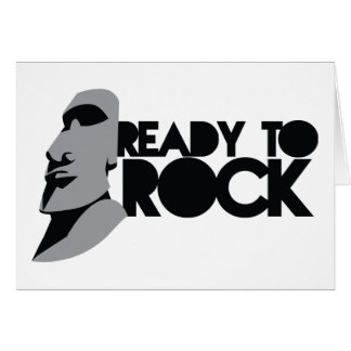 READY TO ROCK! CARD