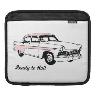 Ready to Roll Vintage Car iPad Sleeve