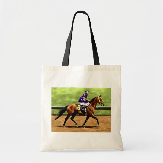 Ready to Run - Horse Painting Tote Bag