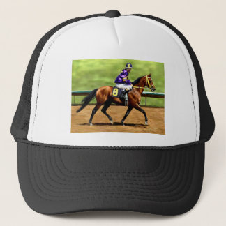 Ready to Run - Horse Painting Trucker Hat