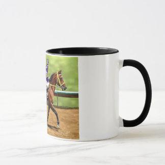 Ready to Run - Race Horse Painting Mug