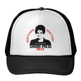 Ready to Serve Cap Trucker Hats