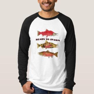 Ready to Spawn- Salmon T-Shirt