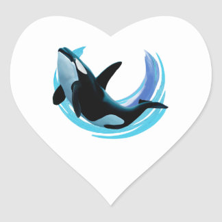 READY TO SURFACE HEART STICKER