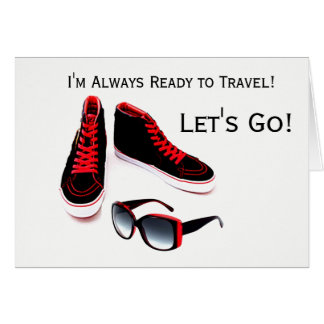 READY TO TRAVEL NOTECARD