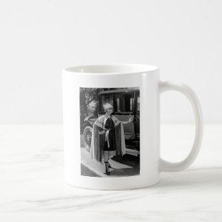 Ready to Wrestle, 1920s Coffee Mug