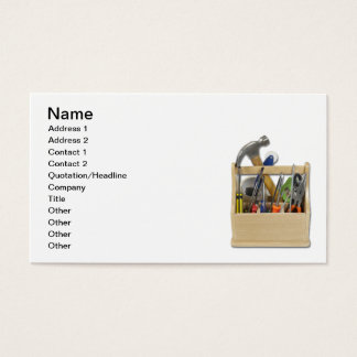 Ready Tools Toolbox Business Card