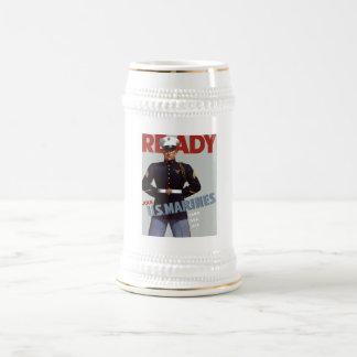 Ready -- US Marines Beer Stein