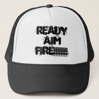 READYAIMFIRE!!!!!! TRUCKER HAT